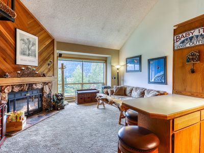 Photo for NEW LISTING! Ski In/Out Condo for hiking or skiing w/ lift & mountain views!