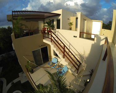 Photo for Penthouse 2 floors, 2 Bedrms, 2 Bathrms, Balcony, Pano-rooftop terrace, Garden