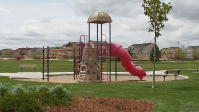 The Kids will LOVE the park right in front of the house!