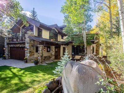 Photo for Private Residence, Vail Golf Course, 5 Bedroom, 4 Bath, Sleeps 10, Hot tub,