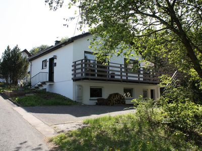Photo for Holiday home with fireplace and a very large balcony in the Sauerland region