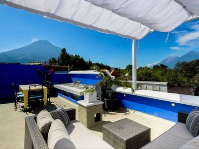 Photo for Casa Del Cielo: Stunning 4 BR home w Rooftop Views (New Listing)