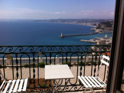 Photo for Stylish Apartment With Breathtaking Sea Views On The Port And The Baie Des Anges