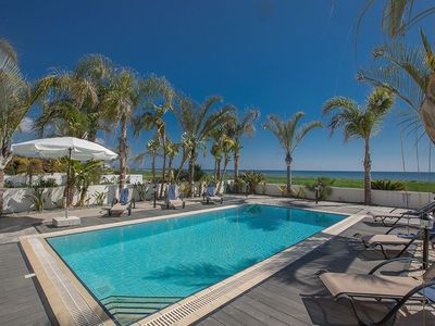 Photo for Villa Adaman - Stunning 3 Bedroom Seafront Villa with Pool - Close to the Beach