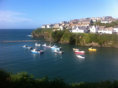 View across Port Isaac
