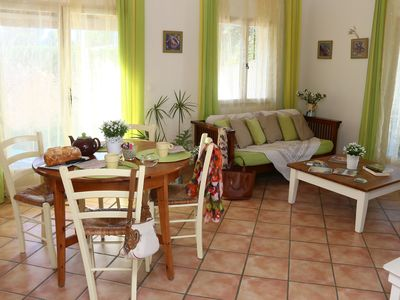 Photo for Gite Les Citrons for 4 people, 2 quiet room in the countryside