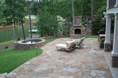 Fabulous outdoor entertaining space