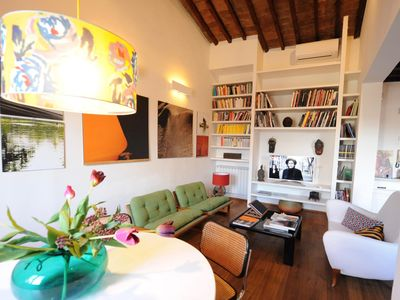 Photo for Bouganville apartment in Santa Croce with WiFi, air conditioning & private terrace.