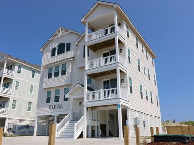 Photo for Aqua Sol at Hatteras 10 Bedroom Home with a Hot Tub, Private Pool and Near Beach Access!