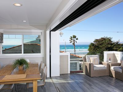 Photo for #3565 - BRAND-NEW, luxurious, steps to ocean, roof deck w/ 360 degree views