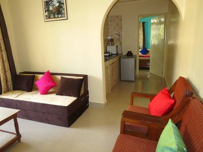 Photo for 07) 1 Bed Apart Central Calangute Sleeps 2/4