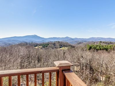Photo for 5BR/5BA Luxury Home with Mountain Views, Hot Tub, King Suites, Custom Furniture and Finishes, near Skiing, Downtown Boone & Blowing Rock