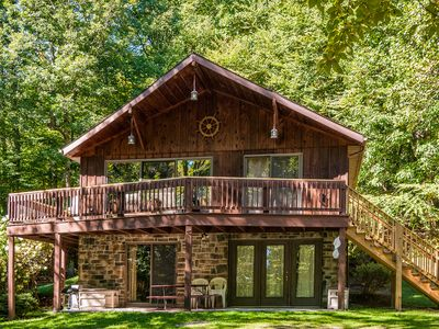 Photo for A Charming & Spacious Mountaintop Retreat with Spectacular View!