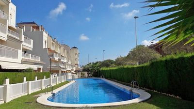 Photo for 6 p apartment at 100 m v Arenal beach Javea