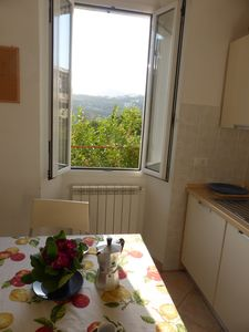 Photo for Quiet apartment with terrace, just 3 km to the beach, parking