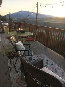 Photo for 3 bedroom 2 bath w/AC and a beautiful deck overlooking the Shoshone River