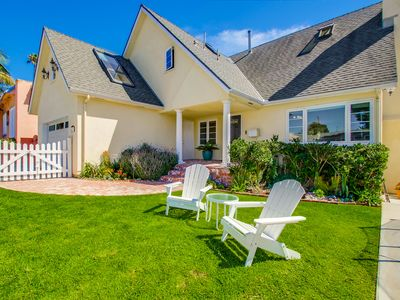 Photo for Luxury family-friendly summer vacation rental 2 blocks from Windansea surf beach