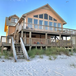 Photo for Updated, Open Floor Plan 5BR directly on the beach!