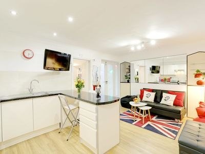 Photo for Seaside Patio Apartment - Metres from Brighton Seafront