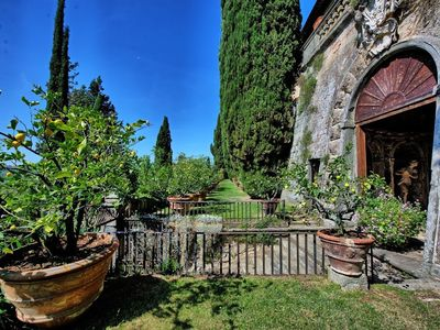 Photo for 2BR Apartment Vacation Rental in Montegufoni, Toscana