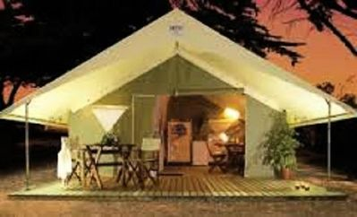 Photo for Camping de la Cazine * - 3 Rooms Equipped tent 4 People
