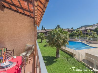 Photo for Splendide 1 bedroom with terrace and pool