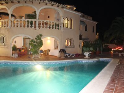 Photo for Lux. Detached  Private Villa max. 21 guests with pool tropical gardens,