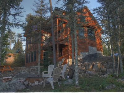 Photo for Four Season Retreat**Modern And Secluded White Iron Lakeshore Cabin**5 Acres**