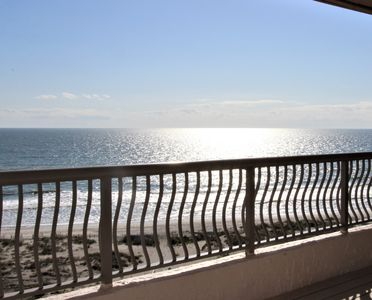 "Photo for Beachfront Penthouse/Expansive PRIVATE Balcony - ""Welcome To The Compass Rose"""