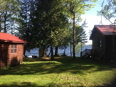 Photo for Year Round Cabin and Bunkhouse on Pristine Schoodic Lake in Central Maine