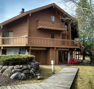 Photo for Huge, Clean sleeps 6 comfortably 2 Bdrm, 2 Bath, Walk to Slopes, Fireplace, WIFI