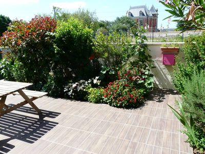 Photo for House with garden and swimming pool - Ocean View and Fort Boyard -