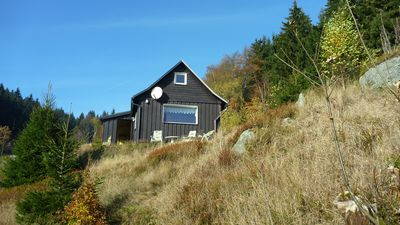 Photo for Country cottage with fireplace, sauna, washing machine. SAT-TV, shower, 2 WC, to 6 persons, walking Ski