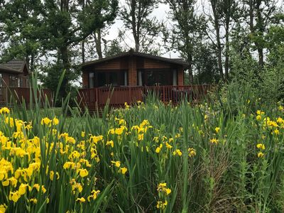 Photo for 3BR Cabin Vacation Rental in Sutton-on-the-Forest, England