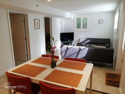 Photo for 2-Br Stylish Apt & Sauna in Woods with Self check-in.