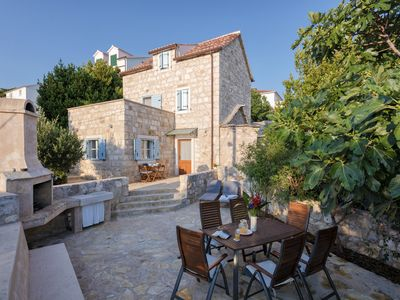 Photo for Newly Restored Stone House with Sea View and Garden and complimentary breakfast