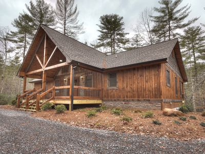 Photo for *Free Whitewater Rafting & Ziplining* Secluded, luxury cabin rental