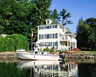 Photo for Lakefront Cottage on one of Maine`s Beautiful lakes, Famous for Bass Fishing