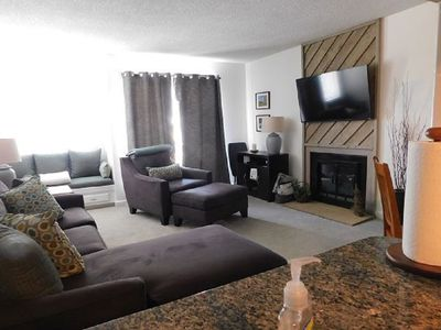 Photo for Bigger. Higher. Better. Enjoy this updated 2 bedroom condo on the 3rd floor