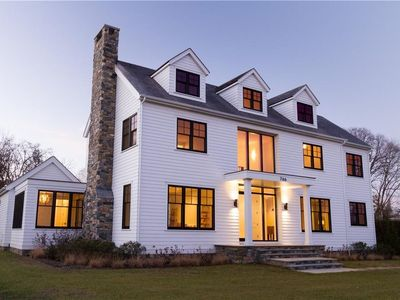Photo for BRAND NEW WATER VIEW ARCHITECT-DESIGNED CONTEMPORARY COLONIAL