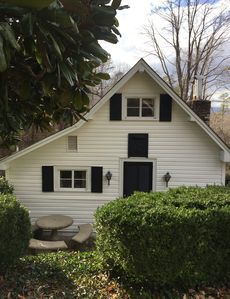 Photo for Historic Victoria Lea Guest Cottage In Downtown Tryon, NC