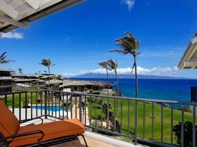 Photo for Kapalua Bay Ocean Front West Facing!