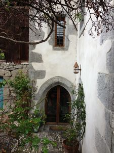 the entrance of the other part where monks used to live