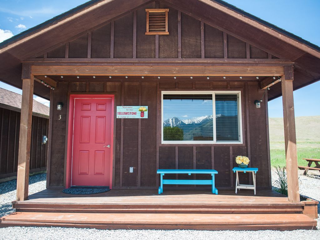 cabins montana at explorer yellowstone country listing