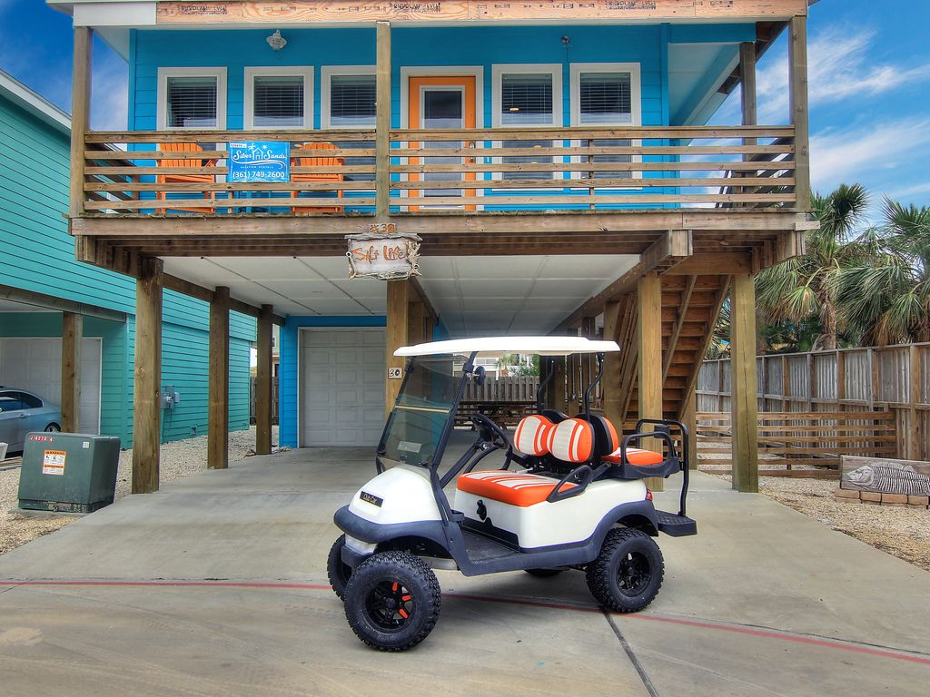 Salt Life: Pool, Close to Beach, Boat Parking, Tiki Bar, Free Golf on golf car boat, shoes boat, golf carts pull type,