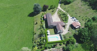 Photo for Spacious stone barn conversion with pool Close to village with shop & restaurant
