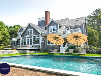 Photo for Vineyard Haven Luxury Rental with a Pool