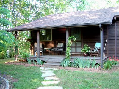 Photo for Private Entrance, Top O' The Knob Chalet Suite, Romantic Getaway, Deck with View