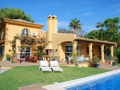 Photo for Holiday villa near Fuengirola with private swimming pool in a green oasis