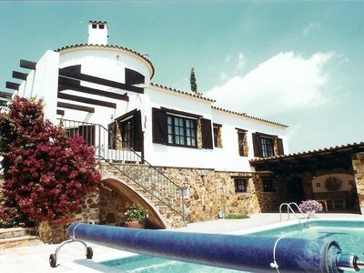 Photo for Spain - Hill Top Villa  with  pool,  full  'Summer Kitchen'  &  superb sea views